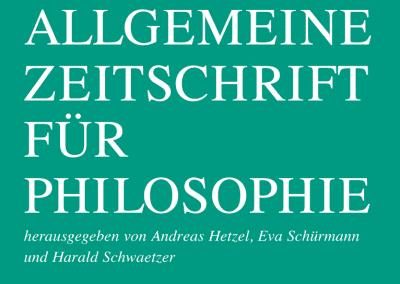 Allgemeine Zeitschrift für Philosophie (AZP)