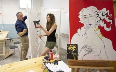 Projekt: Pop Art – und Werkschauankündigung
