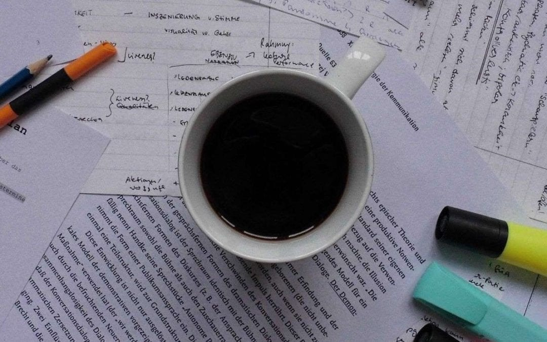 Schreiben über das Schreiben (oder auch: wie zum Geier schreibt man eine Reflexion?)