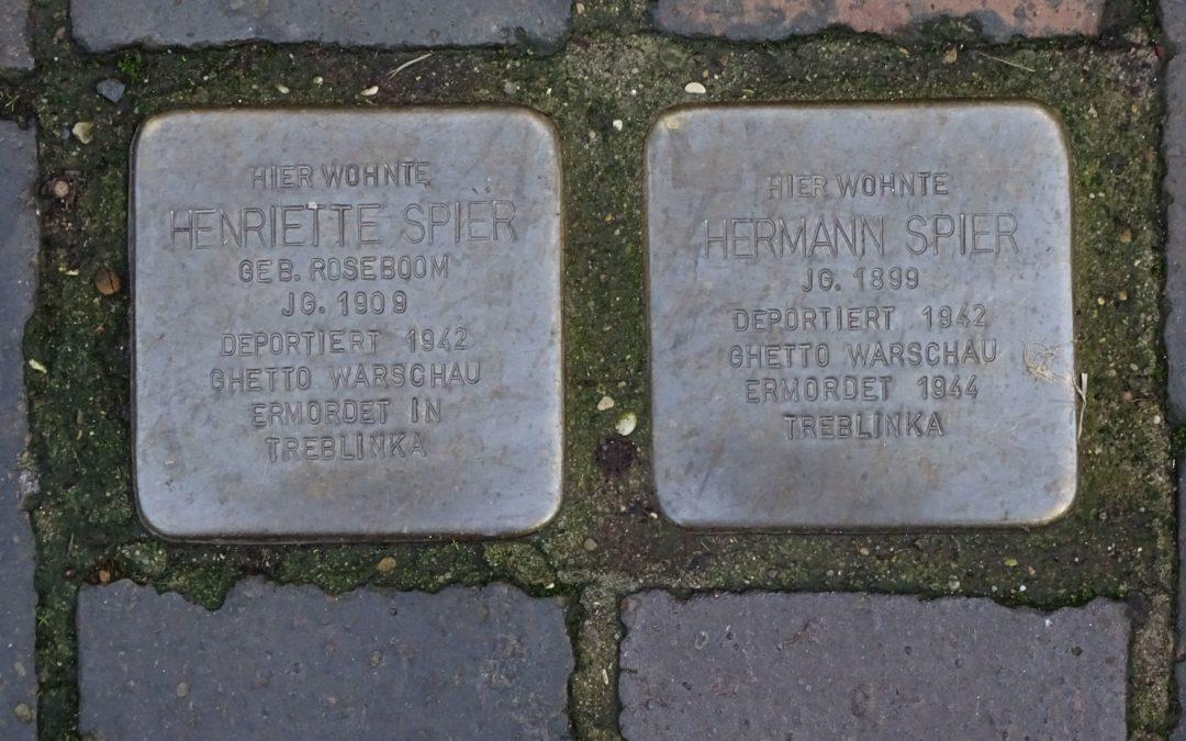 Stolpersteine in Hildesheim