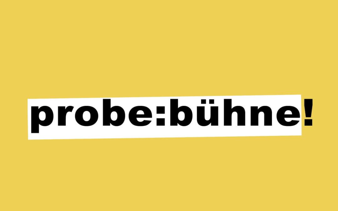 Probe:Bühne Hildesheim