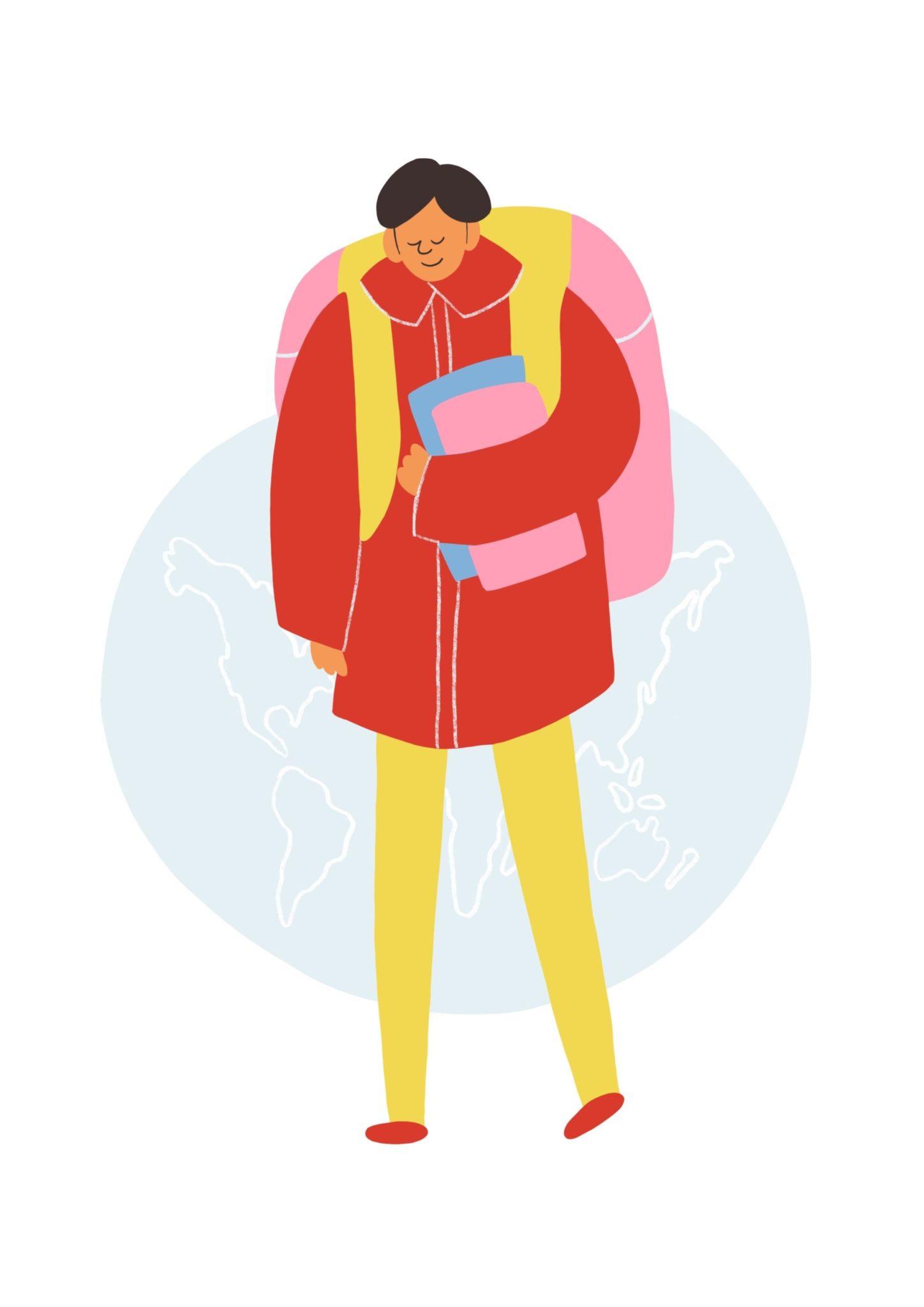 Illustration aus dem Reader Grundbegriffe für kulturelle Bildung Kapitel Kulturelle Bildung & Schule