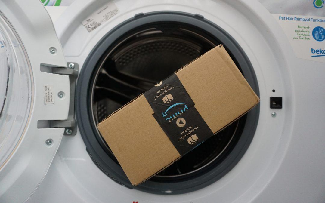 Wie kommt die Waschmaschine in den vierten Stock?