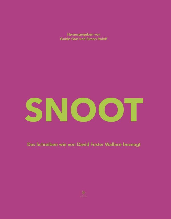 Snoot David Foster Wallace