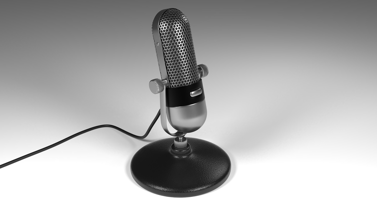 micro-phone, model, microphone