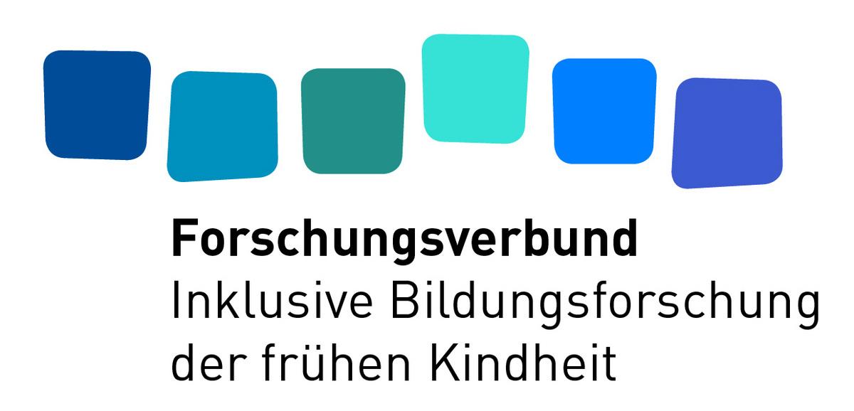 """Logo des Forschungsverbunds """"Inklusive Bildungsforschung der frügen Kindheit als multidisziplinäre Herausforderung"""""""