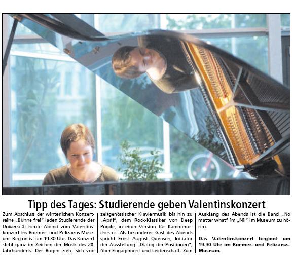 university of hildesheim kommunikation und medien artikel tipp des tages studierende. Black Bedroom Furniture Sets. Home Design Ideas